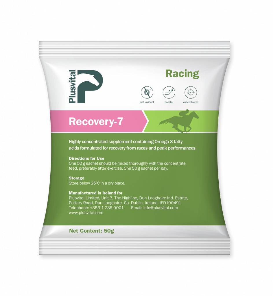 Plusvital Plusvital Recovery-7 7x50 gr
