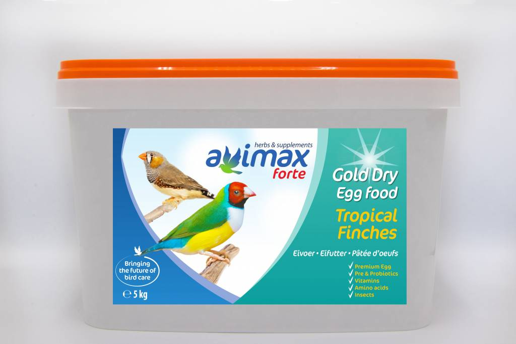 AviMax Forte AviMax Forte Gold Dry Tropical Finches