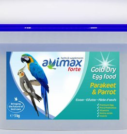AviMax Forte AviMax Forte Gold Dry Grote Parkiet & Papegaai