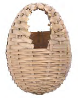 Sisal fibre Sisal Fibre BAMBOO-nest Kanaries + haak