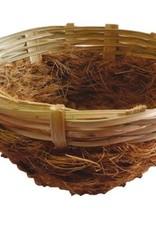 Sisal fibre Sisal Fibre Nest Bamboo +Hook