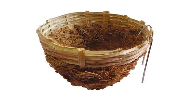 Sisal fibre Sisal Fibre Kanarienest+haakbamboo 11 cm