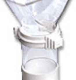 """S.T.a. Soluzioni Sifone """"Portasali"""" (funnel) white/transp."""