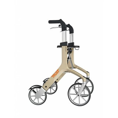 TrustCare Let's Fly rollator - Beige/champagne