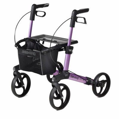 Gemino 30 Small rollator - Paars/roze (kinderrollator)