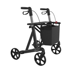 Rehasense Server HD rollator - Antraciet