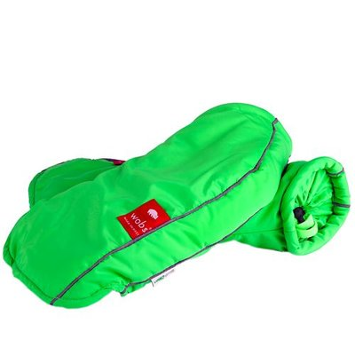 Rollator/fiets handschoenen - Fluor Groen