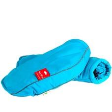 Rollator/fiets handschoenen - Fluor Turquoise blauw