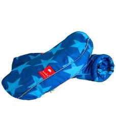 Rollator/fiets handschoenen - Sterren blauw