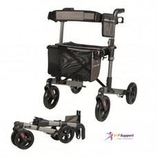 Wheelz Ahead TRACK dubbel opvouwbare rollator - Antraciet