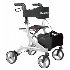 Caremart EZ-Lite rollator - Zilver