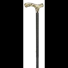 Ossenberg Verstelbare wandelstok - Chique  goudzwart marmer