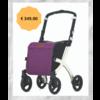 Rollz Rollz Flex Shopper rollator met paarse tas - Showmodel