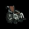 Excel G-Logic handbewogen transport rolstoel - Wit
