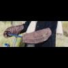 Rollator/fiets handschoenen -  luxe bruin