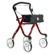 Excel Mobility Virage rollator - Rood
