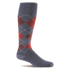 Argyle Denim - Heren - Blauw