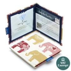 Blue Badge Company Mapje gehandicapten parkeerkaart - Indian Elephants