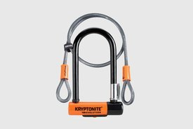 Kryptonite - Evolution Mini 7 Lock with Cable with Frame Bracket