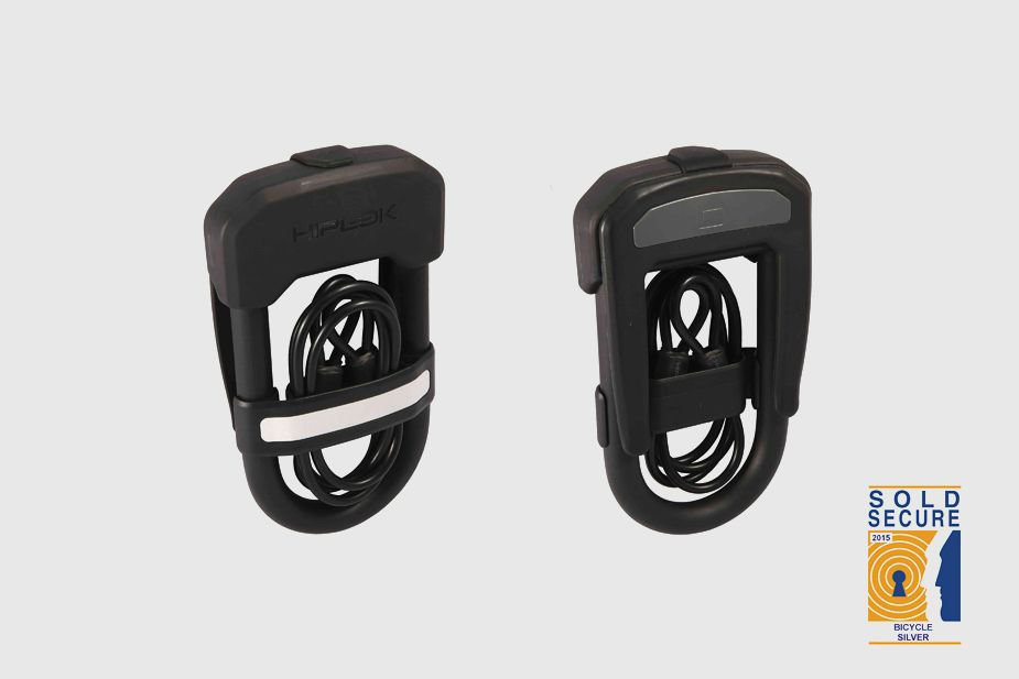 Hiplok - DC, werable D-lock with cable