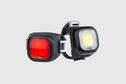 Knog Knog - Blinder USB rechargeable lights, Mini CHIPPY Twinpack, Black