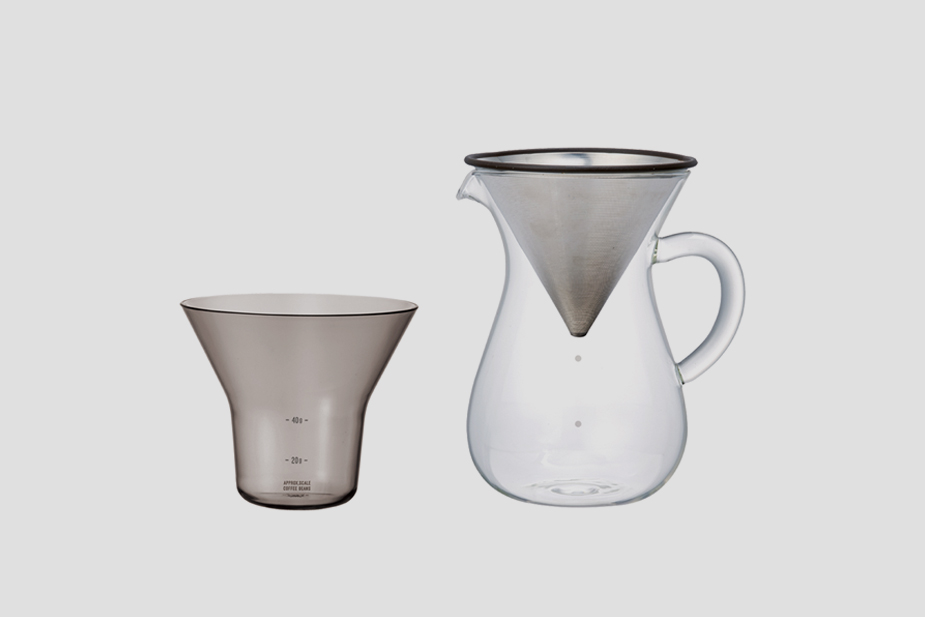 Kinto Kinto - coffee carafe set 600ml stainless steel