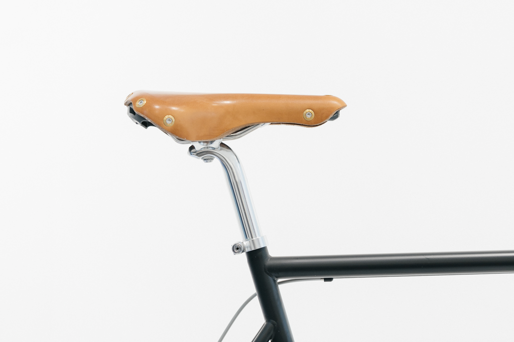 Gilles Berthoud - leather saddle ASPIN