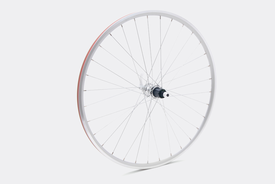 650c Rear Wheel,  Silver - CS650