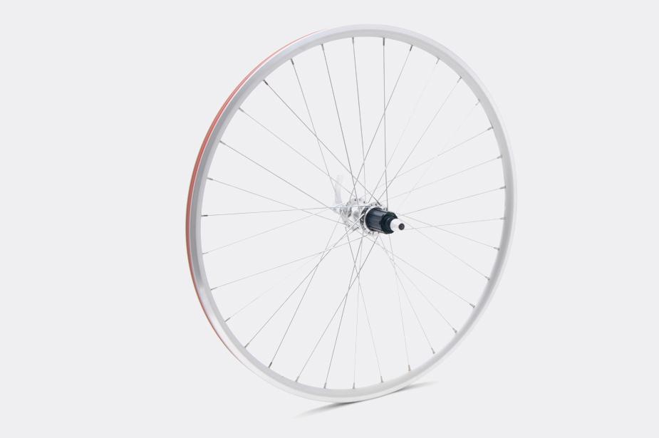 JALCO - Rear Wheel, DRX-4000 650c 36H Silver / Silver (CS650)