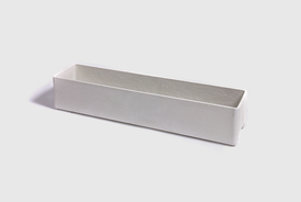 Willy Guhl Fibre concrete planter 80 cm in grey