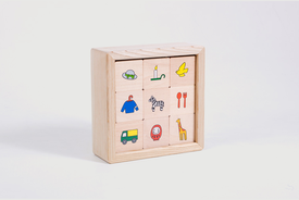 Toda Design Toda Design - Baby Piece, Wooden Toy