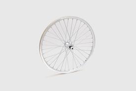 "20"" Front Wheel, Silver - Mini Velo"