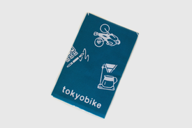 tokyobike x Kamawanu tokyobike x Kamawanu - Tenugui, Japanese hand towel, Navy