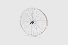 "20"" Rear Wheel, Silver - Mini Velo"