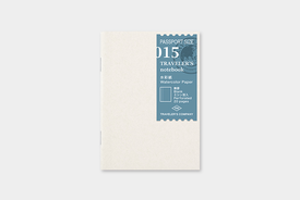 Traveler's TRAVELER'S notebook, passport size, water colour paper