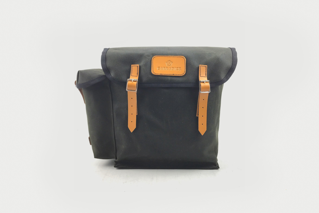 Carradice - Kendal Panniers single (not pair), Dark Green