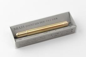 Traveler's TRAVELER'S Brass fountain pen