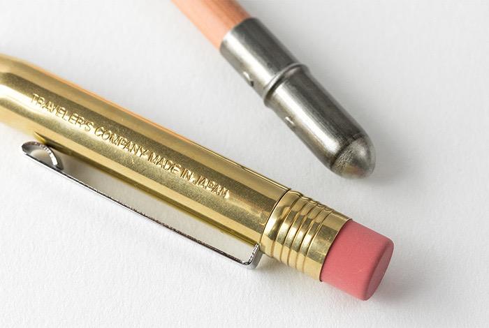 Traveler's TRAVELER'S, brass pencil, solid brass