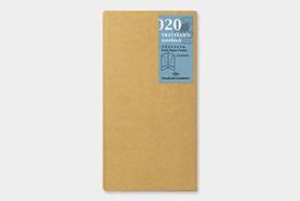 Traveler's TRAVELER'S notebook, Kraft Paper Folder