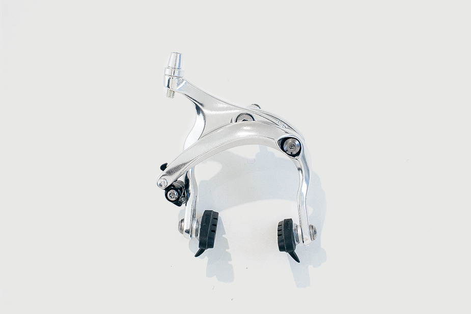Tektro TEKTRO - Brake Caliper (Front) R369 Long arch, Silver (CS, Mini Velo)