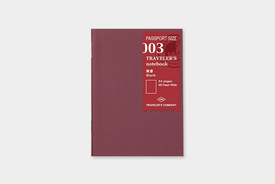 Traveler's TRAVELER'S notebook, passport size, refill