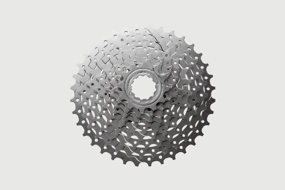Shimano SHIMANO - Cassette Sprockets, CS-HG400 9-Speed, 11-25T (for Sport)