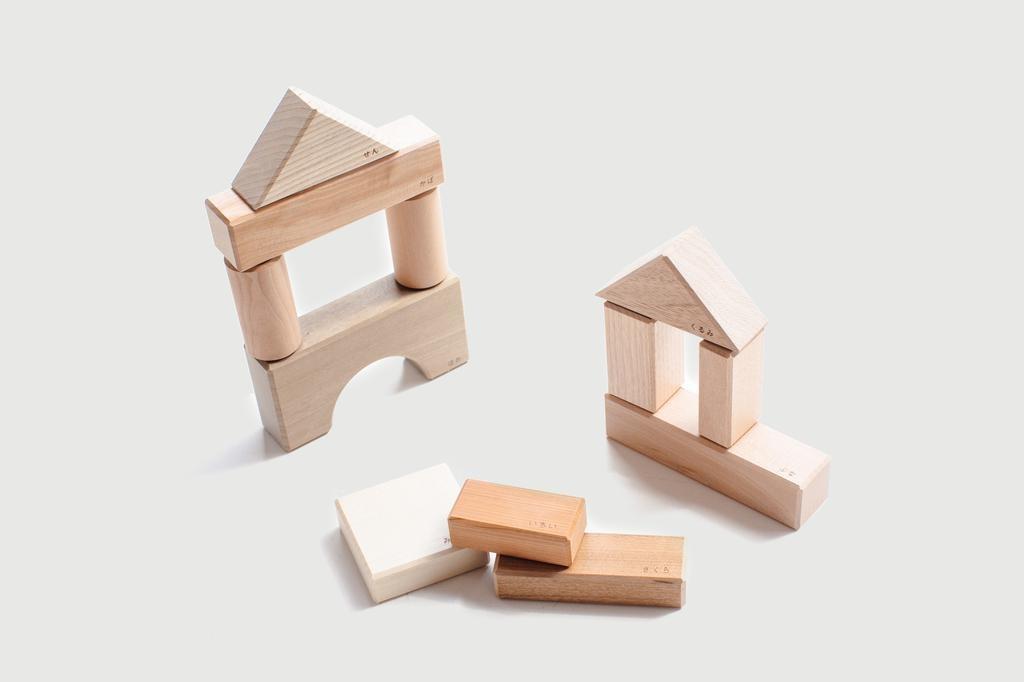 Oak Village Oak Village - Yosegi Building Blocks
