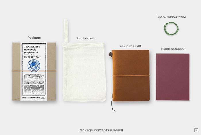Traveler's TRAVELER'S notebook, passport size, camel
