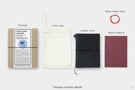 Traveler's TRAVELER'S notebook,, Passport size, Leather