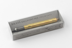 Traveler's TRAVELER'S, Ball point pen, solid. brass