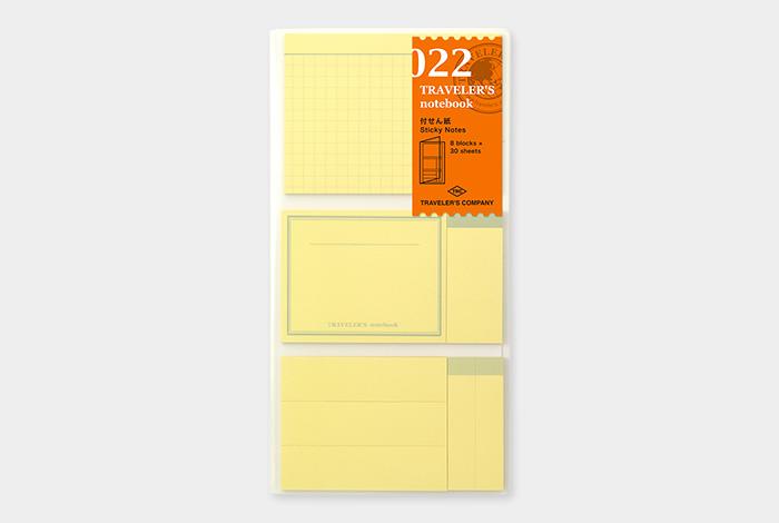 Traveler's TRAVELER'S notebook, sticky memo pads
