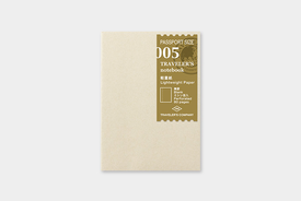 Traveler's TRAVELER'S notebook, passport size, light weight paper
