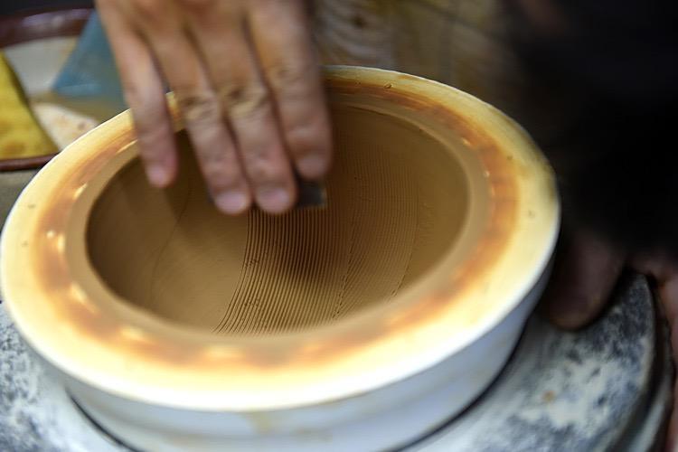 Motoshige - Japanese Morter, Suribachi Bowl, White
