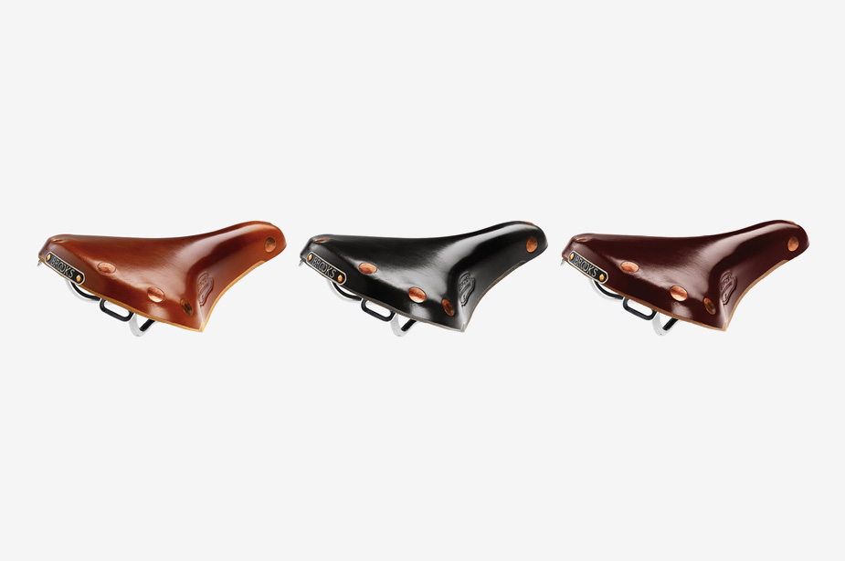 BROOKS - Leather Saddle, Team PRO-S Chrome